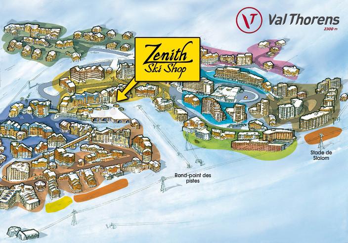 Znith Ski Shop Sports shops Val Thorens Les 3 Valles