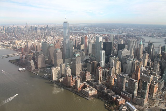 Manhattan Helicopter Tour view 1