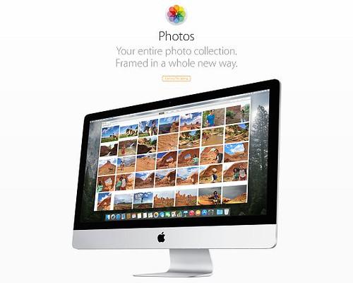 Photosアプリは近日公開!