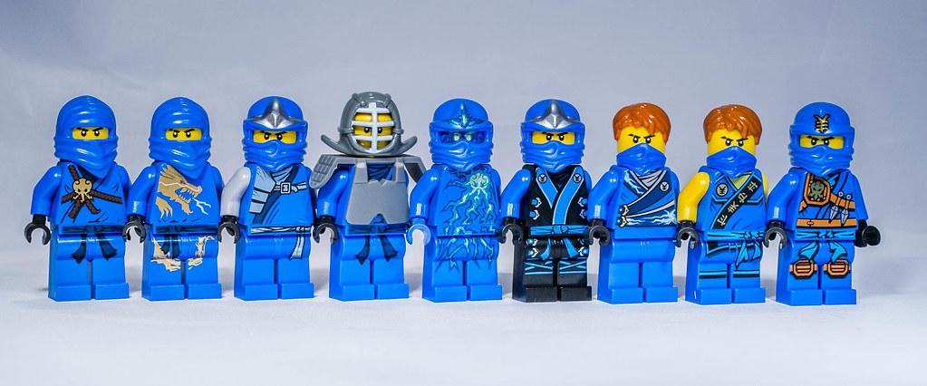 Lego Ninjago Jay Minifigures Unitl 2015