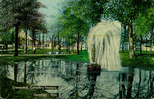 Greenwood Cemetery Fountain