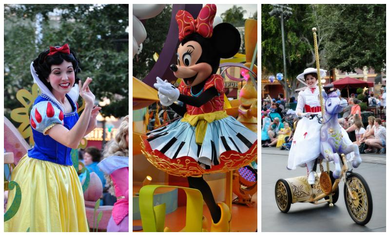 Parade Characters