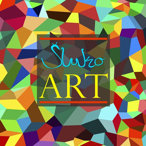 SlukoART colorful LOGO