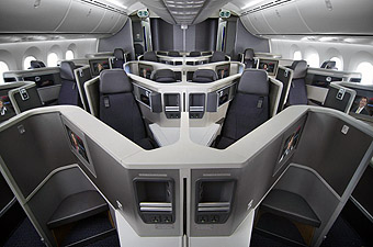 American Airlines B787-8 Business Class (American Airlines)