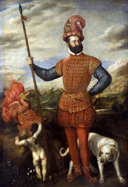 Tizian, Bildnis eines Feldherrn
