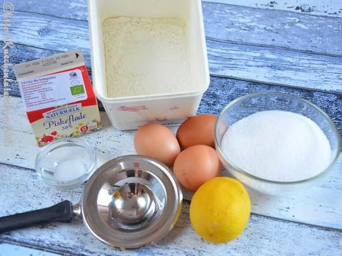 © Zutaten Zitronen-Wolkenkuchen