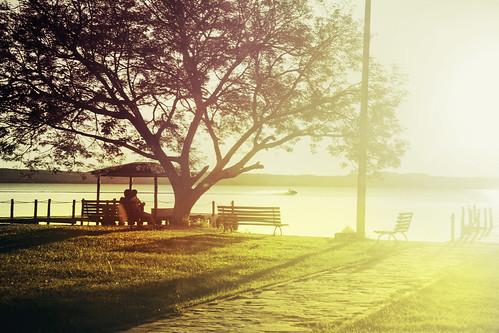 sunset atardecer sanber