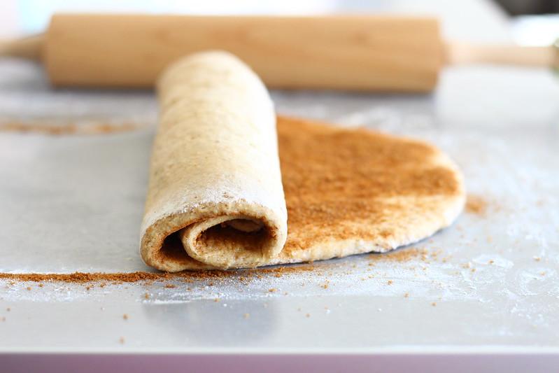 Whole Grain Cinnamon Swirl Bread