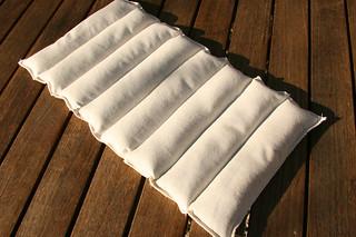 Tuto couture - bouillotte dorsale graines de lin - Etape 13