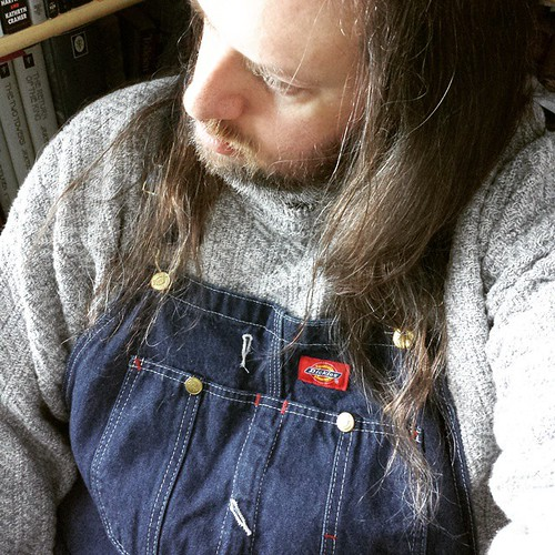 Ready to face the day.... #overalls #awake #needcoffee