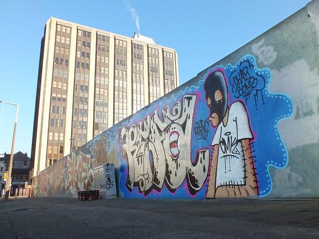 Empty Walls Street Jam repaint