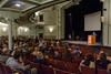 Q & A at Earlham Convocation