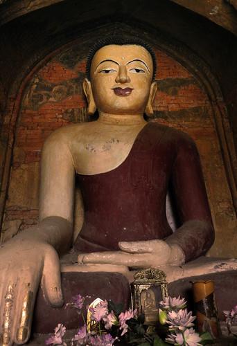 Bagan, Myanmar: Sein Nyet Pagoda Buddha