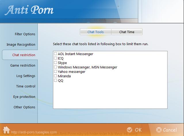 Giới hạn thời gian chat