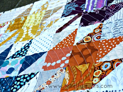 Modern Maples quilting