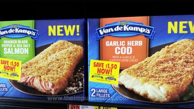Spotted on shelves 2 26 2015 the impulsive buy for Cod fish walmart