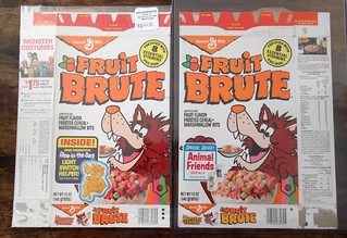 Fruit Brutes - Series 42 and 55 Cereal Box