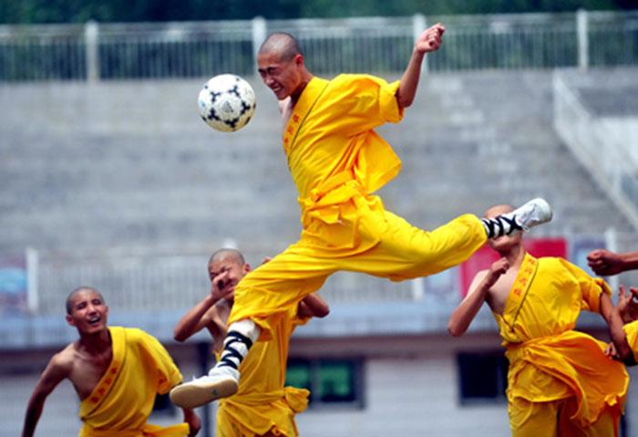 Đội bóng Thiếu Lâm sẽ sớm khuynh đảo Trung Quốc