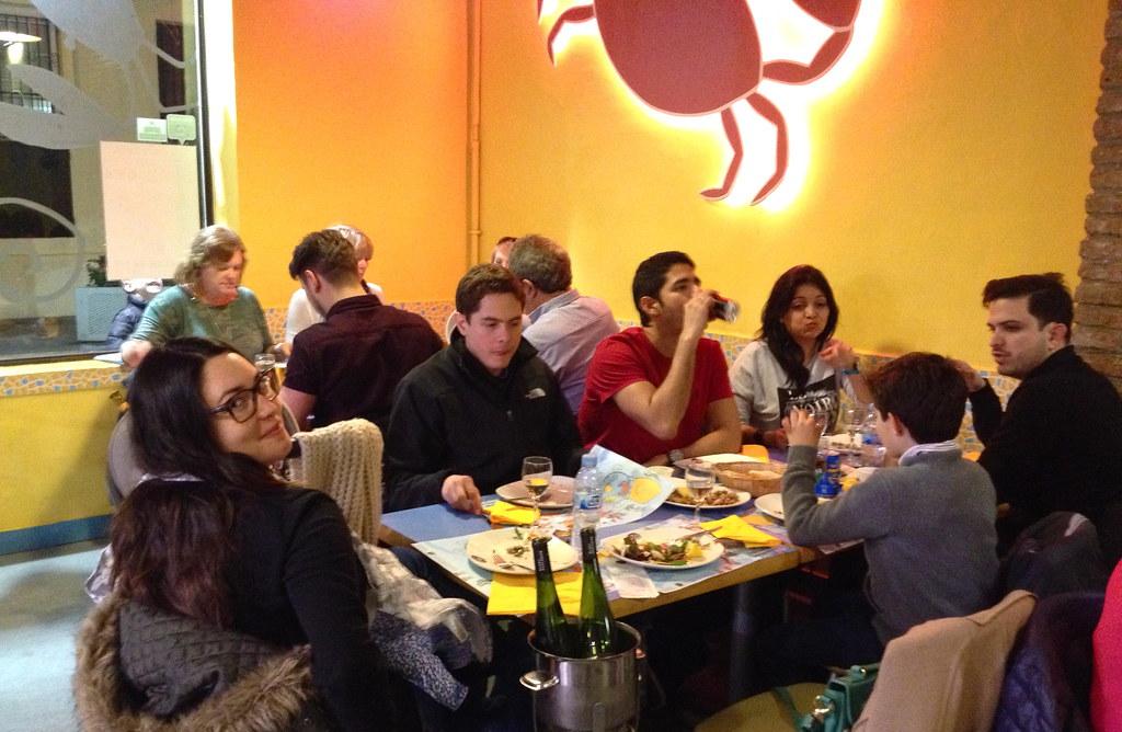Barcelona food Seafood