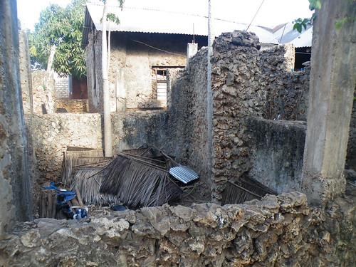 Their house has fallen down