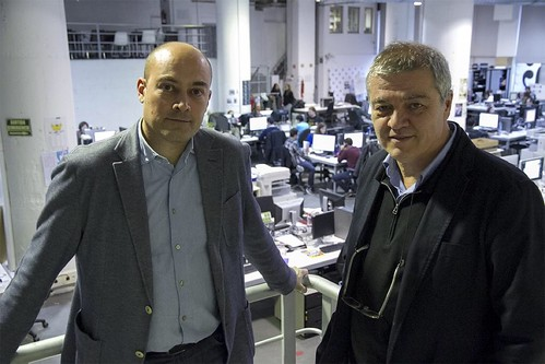 Entrevista UOC Antoni Esteve i Saül Gordillo