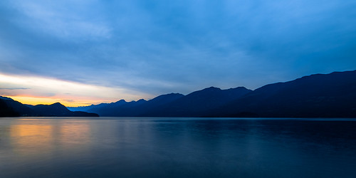 sunset lake canada mountains water landscape bc britishcolumbia kootenaylake ainsworthhotsprings