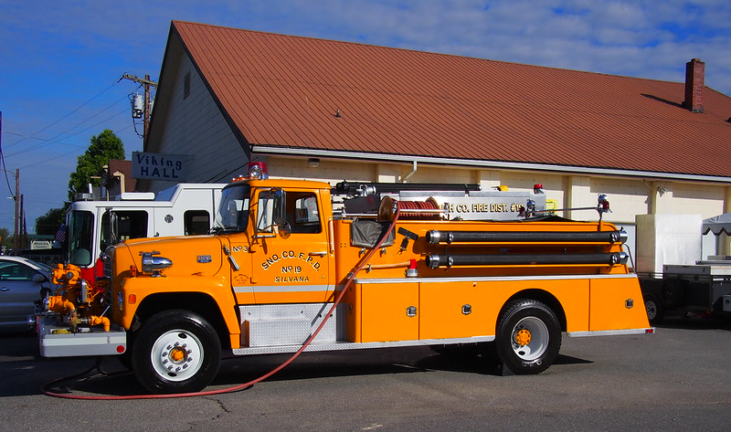 Silvana Fire Truck: There was some sort of large event behind the Sons of Norway here.