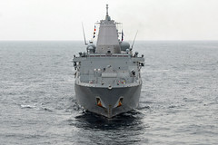 USS New Orleans (LPD 18) file photo. (U.S. Navy/MC2 Brian Caracci)