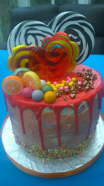 Lollipop Love Cake by Shushma Leidig of SK Cakes
