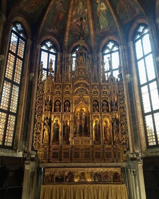 Altar at San Zaccaria