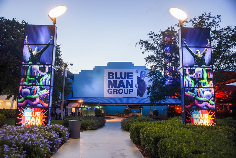 Blue Man Group hall
