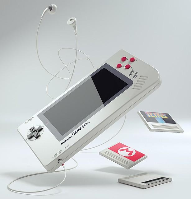 Ce GameBoy original est en fait un PC imprimé en 3D 30239345695_8b3a9ba7ae_z