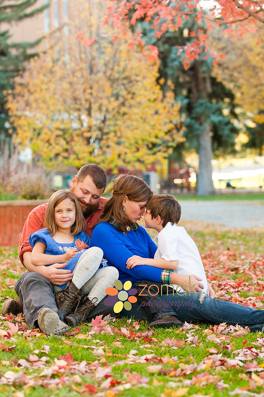 Montana fall family photos on location.