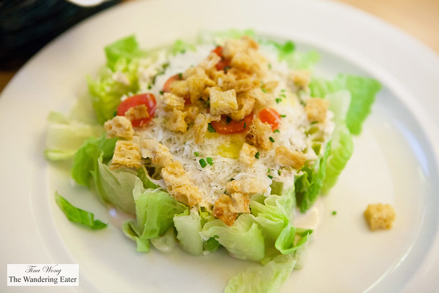 Goat Cheese Caesar Salad