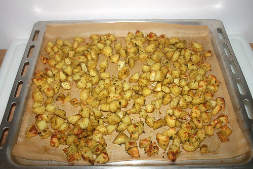 49 - Röstkartoffeln fertig gebacken / Roast potatoes finished baking