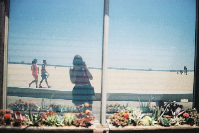Santa Monica with Quilt