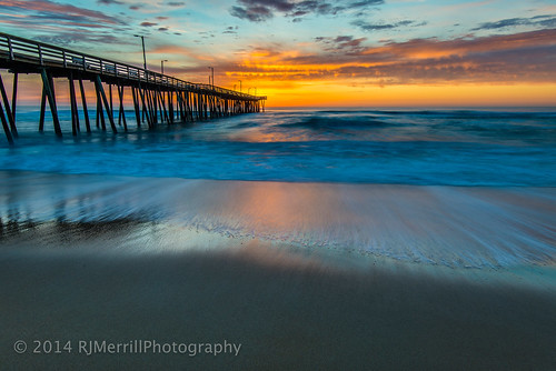 ocean longexposure sun beach water colors clouds sunrise coast virginia sand nikon atlantic boardwalk fx virginiabeach atlanticocean eastcoast fishingpier earthday lightroom 2014 oceanfront d600 nikond600 15thstreetpier 1635mmf4 lightroom5