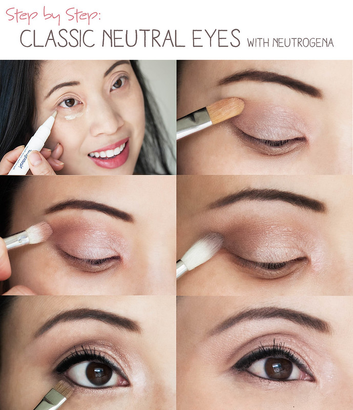 Makeup Tutorial Quick Easy Classic Neutral Eyes Cute And Little