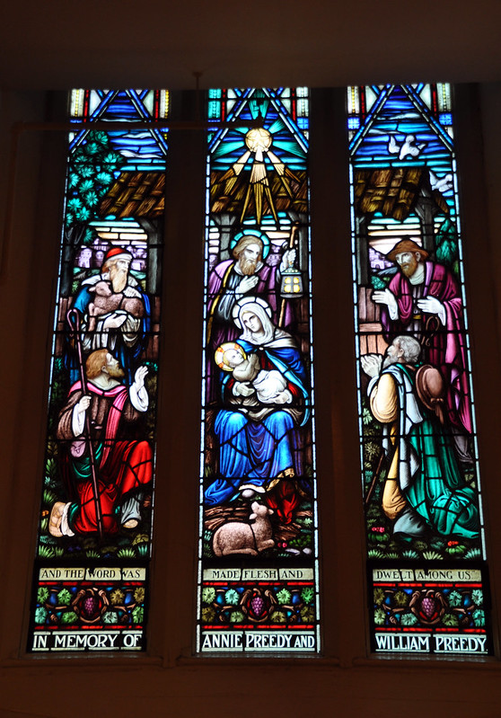 Stained Glass in St. Matthew's