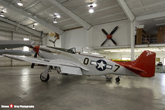 N551D 44-14826 - 1364 - Private - Commonwealth CA-17 Mustang 20 - Tillamook Air Museum - Tillamook, Oregon - 131025 - Steven Gray - IMG_8077