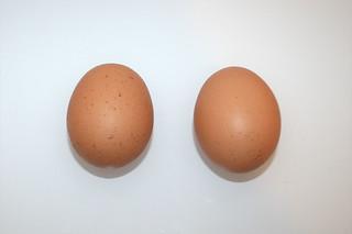 03 - Zutat Hühnereier / Ingredient eggs