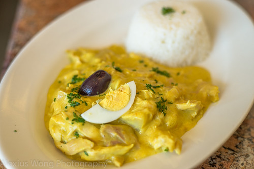 Aji de Gallina/Chicken Stew
