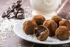 Healthy oat date coconut truffles!