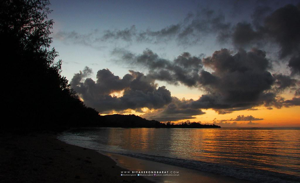 Sunset apuao grande island