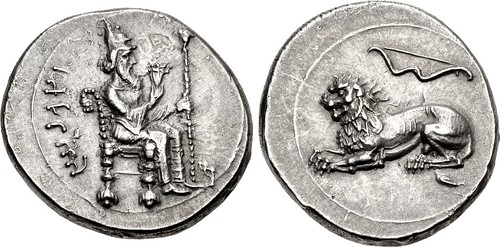 Lot 88 Silver Stater from Tarsos