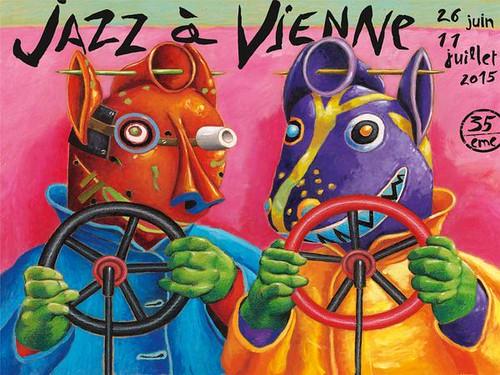 L'affiche du festival Jazz à Vienne 2014