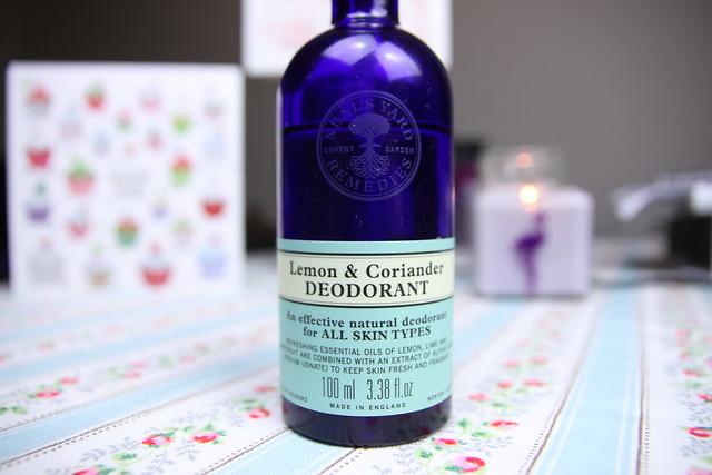 Neal's Yard Lemon & Coriander Deodorant