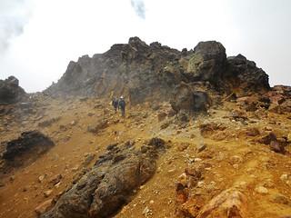 Nearing the Summit of Iliniza Norte