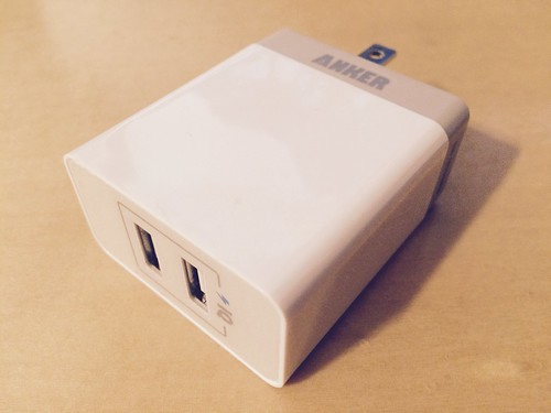 ANKER Dual-Port Wall Charger