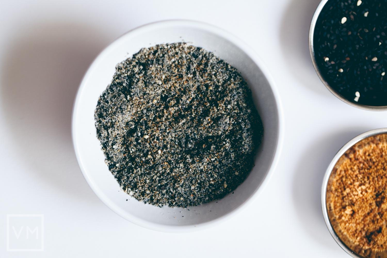 Vegan Mitarashi Dango